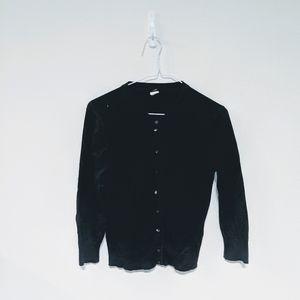 J. Crew vintage black cardigan size S